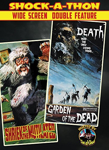 Shriek Of The Mutilated Garden Of The Dead Double Feature DVD