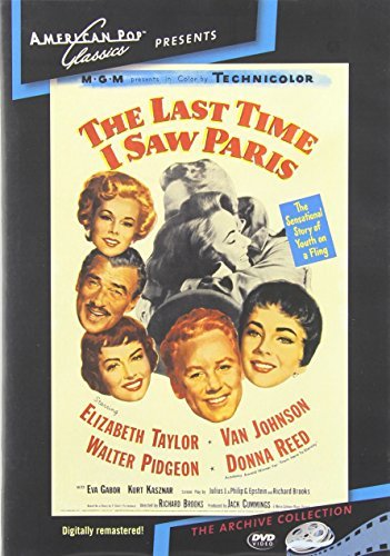 Last Time I Saw Paris (1954) Taylor Johnson DVD Mod This Item Is Made On Demand Could Take 2 3 Weeks For Delivery
