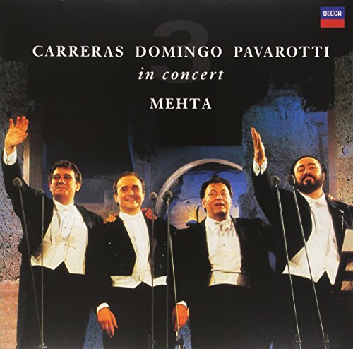 Pavarotti Domingo Carreras Three Tenors 25th Anniversary