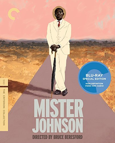 Mister Johnson Brosnan Woodward Eziashi Blu Ray Pg13 Criterion