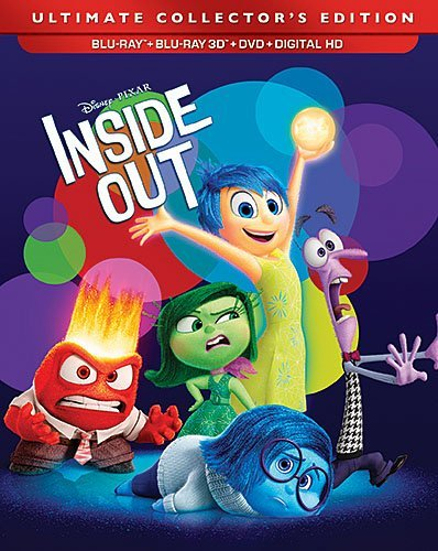 Inside Out Inside Out 3d Blu Ray DVD Dc Pg