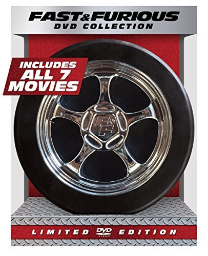 Fast & Furious 1 7 Collection DVD