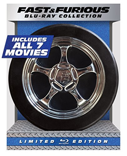 Fast & Furious 1 7 Collection Blu Ray