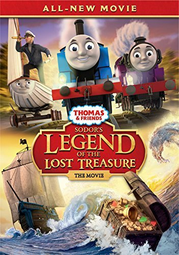 Thomas & Friends Sodor's Legend Of The Lost Treasure DVD Nr