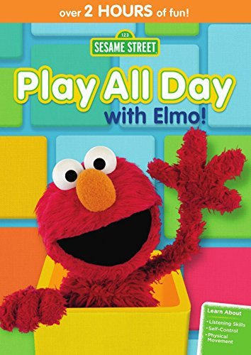 Sesame Street Play All Day With Elmo DVD