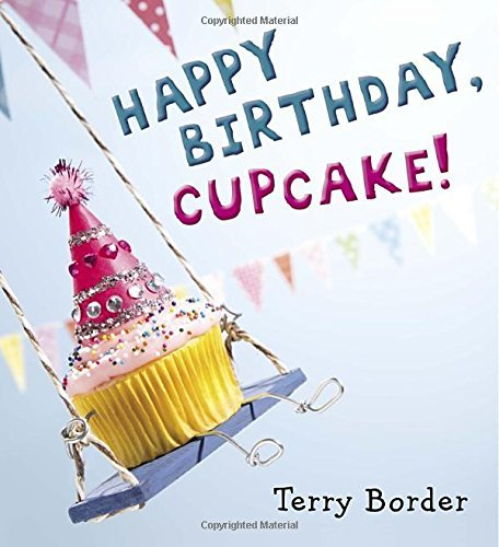 Terry Border Happy Birthday Cupcake!