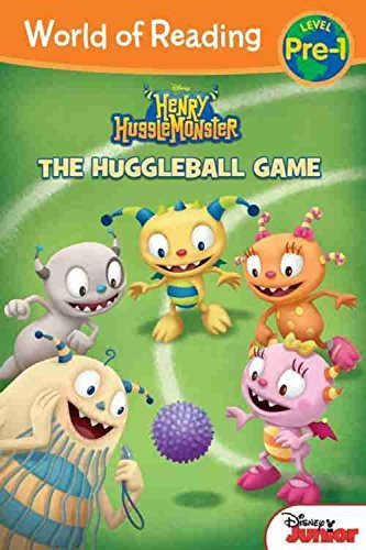Disney Book Group Henry Hugglemonster The Huggleball Game