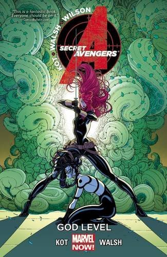 Ales Kot Secret Avengers Volume 3 God Level