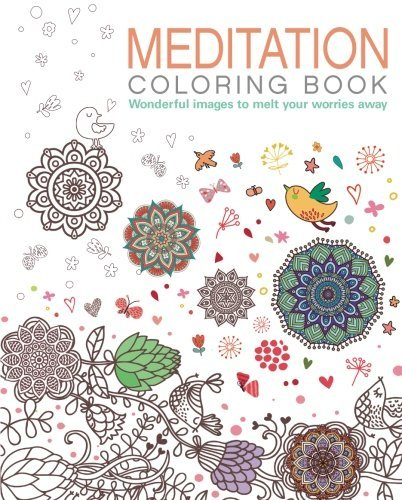 Arcturus Publishing Meditation Coloring Book