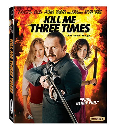 Kill Me Three Times Pegg Palmer Braga Blu Ray R