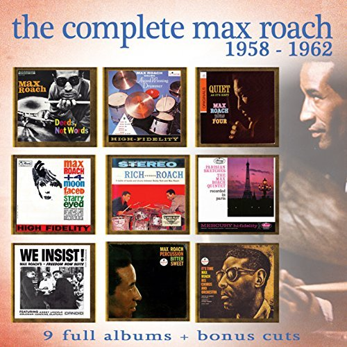 Max Roach Complete Max Roach 1958 1962 4 CD