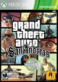 Xbox 360 Grand Theft Auto San Andreas Grand Theft Auto San Andreas