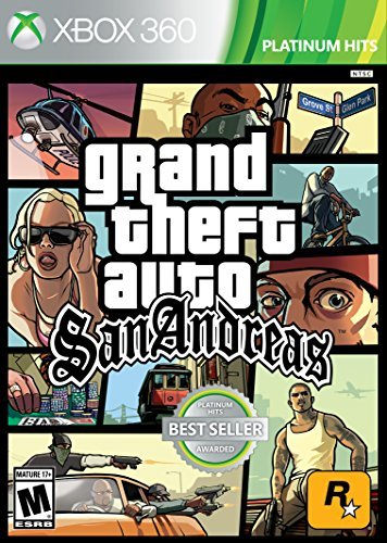 Xbox 360 Grand Theft Auto San Andreas