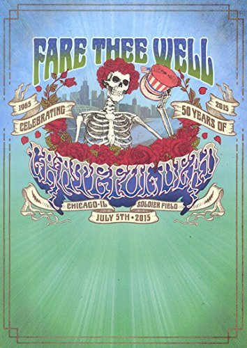 Grateful Dead Fare Thee Well 3cd 2 Blu Ray