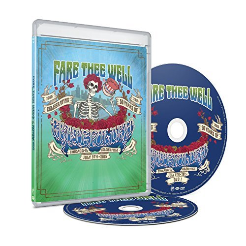 Grateful Dead Fare Thee Well 2dvd