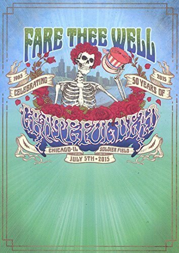 Grateful Dead Fare Thee Well 3cd 2dvd