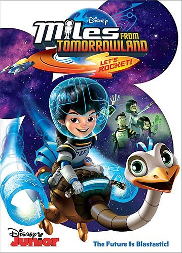 Miles From Tomorrowland Let's Rocket Miles From Tomorrowland Let's Rocket DVD