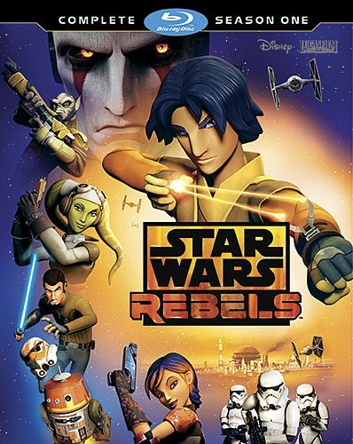 Star Wars Rebels Season 1 Blu Ray