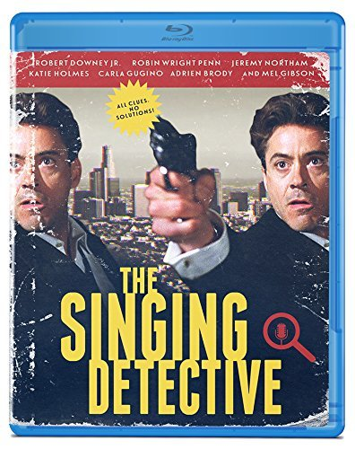 Singing Detective Downey Jr. Gibson Wright Blu Ray R