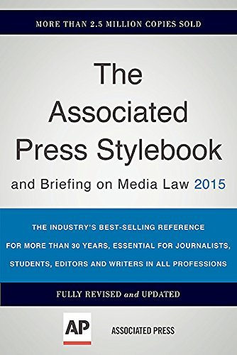 Associated Press The Associated Press Stylebook 2015