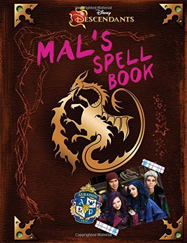 Tina Mcleef Descendants Mal's Spell Book