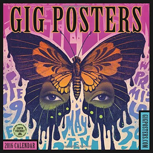 Amber Lotus Publishing Gig Posters 2016