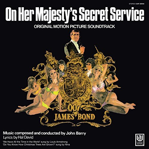James Bond On Her Majesty's Secret Service Soundtrack On Her Majesty's Secret Service
