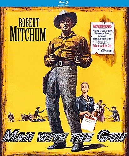 Man With The Gun Mitchum Sterling Sharpe Blu Ray Nr