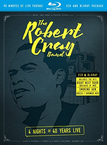 Robert Cray 4 Nights Of 40 Years Live Bluray 2cd
