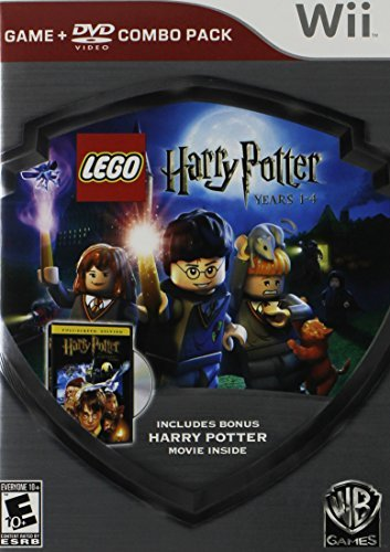 Wii Lego Harry Potter 1 4 Game Hp Whv Games