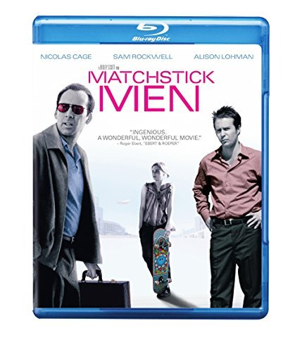 Matchstick Men Lohman Altman Cage Rockwell Blu Ray Pg13