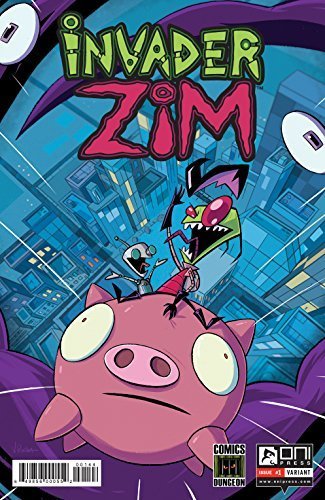 Comic Book Invader Zim