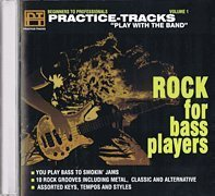 CD Practice Tracks Rock For Bass Players