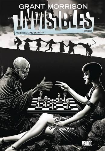 Grant Morrison The Invisibles Book Four Deluxe Edition