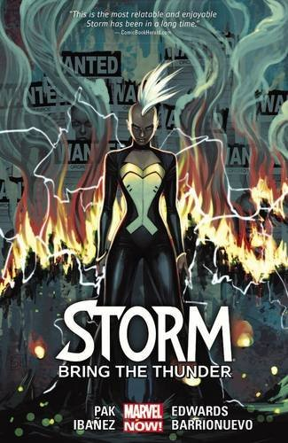 Marvel Comics Storm Volume 2 Bring The Thunder