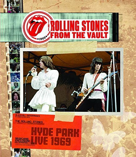 Rolling Stones From The Vault Hyde Park 1969 From The Vault Hyde Park 1969