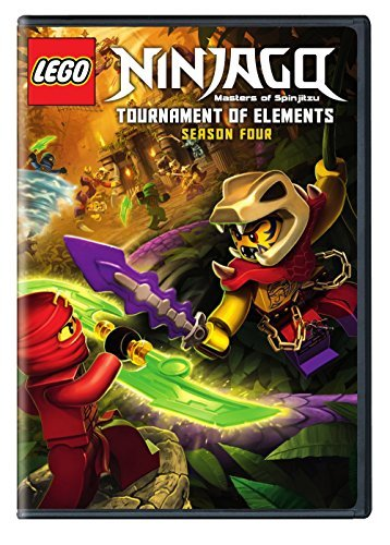 Lego Ninjago Masters Of Spinjitzu Season 4 DVD