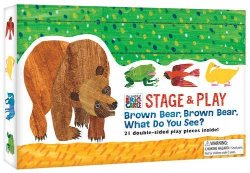 Chronicle Books The World Of Eric Carle(tm) Brown Bear Brown Bear