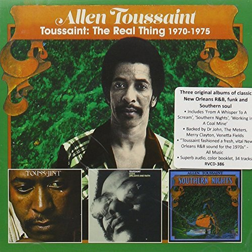 Allen Toussaint Real Thing 1968 1975 Toussai