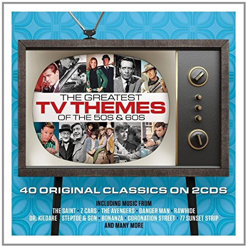 Greatest Tv Themes Greatest Tv Themes Import Gbr 2cd