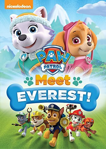 Paw Patrol Meet Everest! DVD