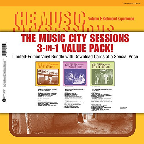 Music City Sessions 3 In 1 Value Pack Music City Sessions 3 In 1 Value Pack