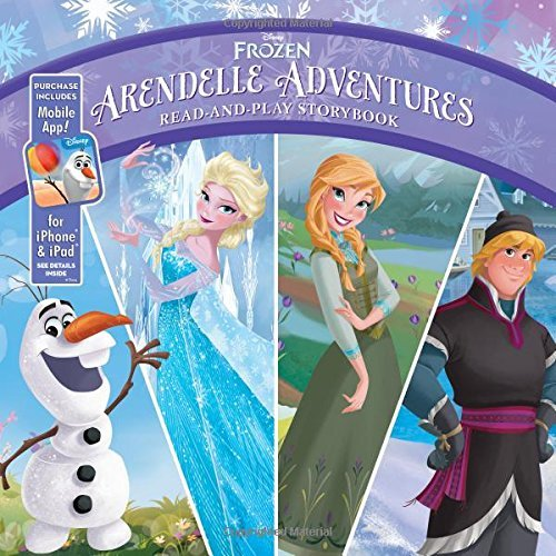 Disney Book Group Frozen Arendelle Adventures Read And Play Storybook Purchase Includes Mobile