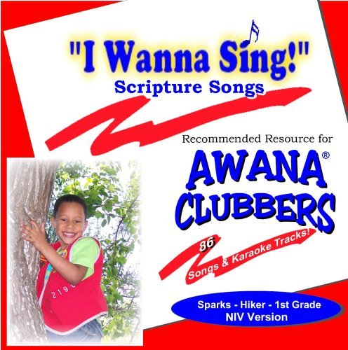 "Melissa Woods I Wanna Sing!"" Scripture Songs Sparks Hiker First Grade Niv Version"