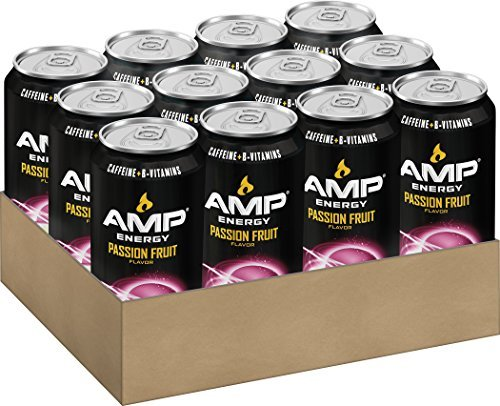 Beverage Mountain Dew Amped Energy Passion Fruit