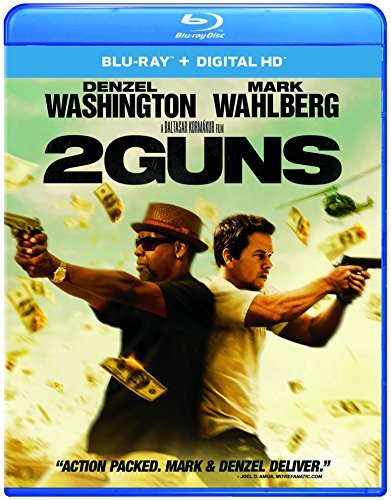 2 Guns Washington Wahlberg Blu Ray Dc R