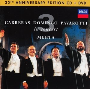 Pavarotti Domingo Carreras The Three Tenors 25th Anniversary Three Tenors 25th Anniversary""