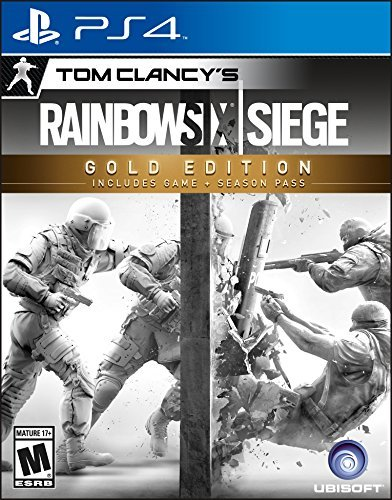 Ps4 Tom Clancy's Rainbow Six Siege Gold Edition Tom Clancy's Rainbow Six Siege Gold Edition
