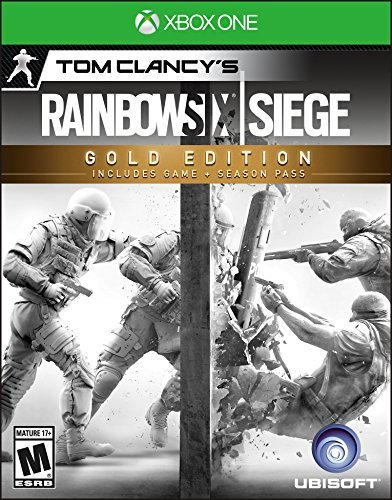 Xbox One Tom Clancy's Rainbow Six Siege Gold Edition Tom Clancy's Rainbow Six Siege Gold Edition