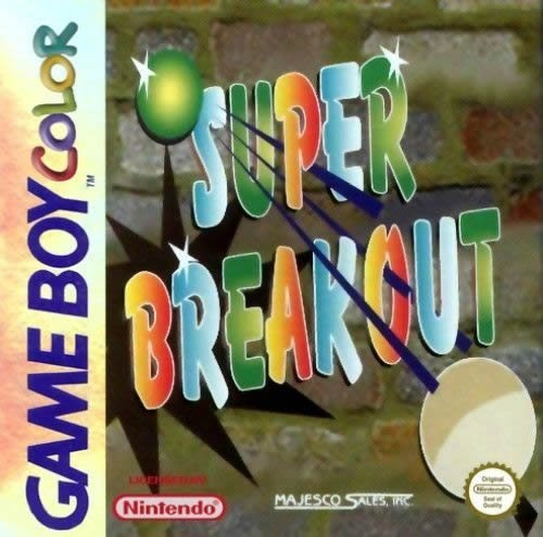 Gameboy Color Super Breakout